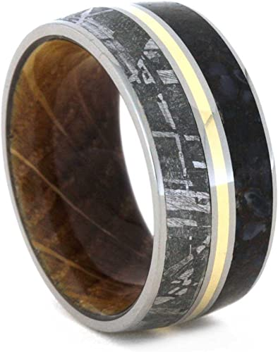Gold 2mm Faceted Tungsten Ring Quarter Sizes Blue Rose Natural Colors Black
