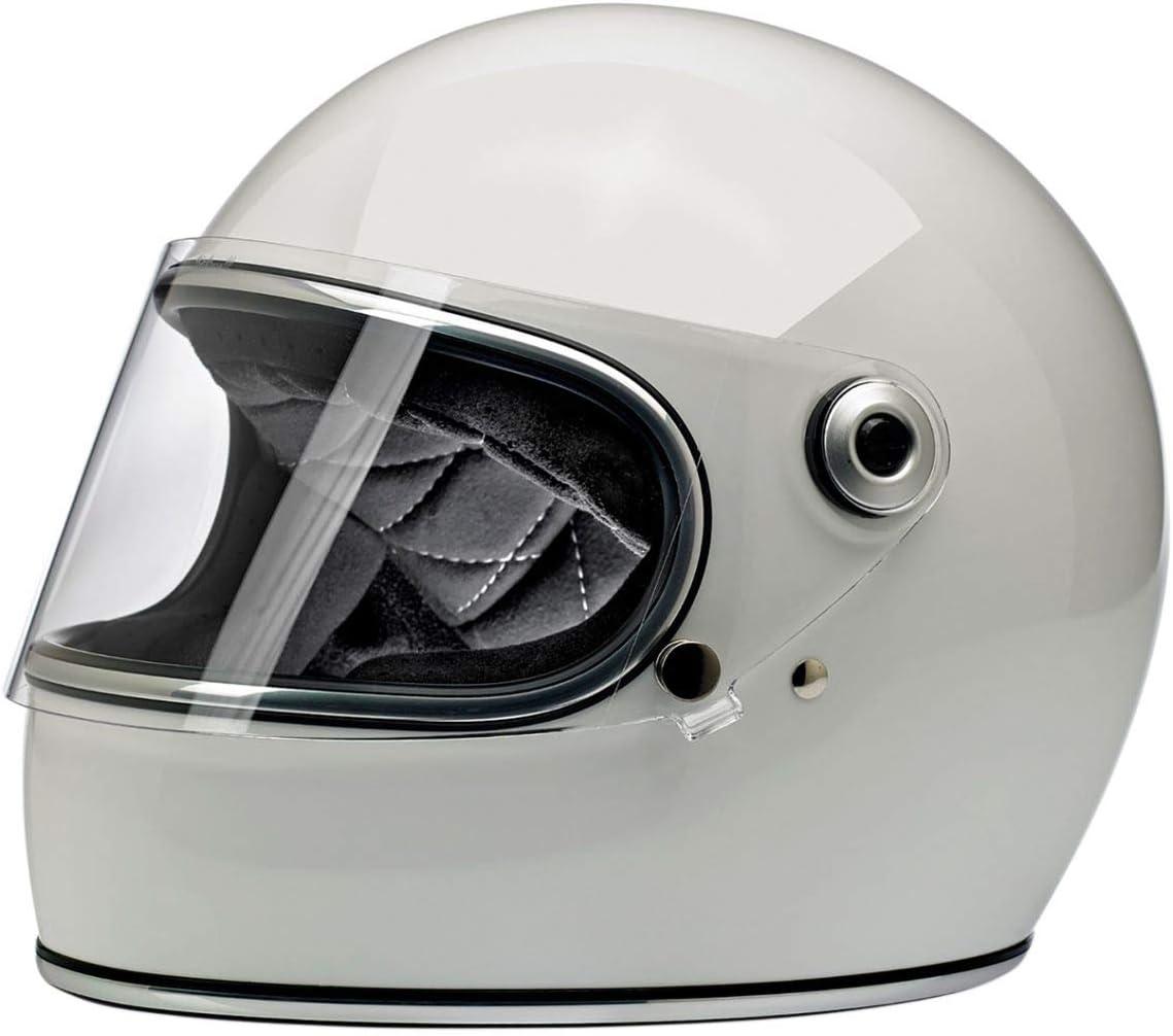 Small//DOT//ECE Gloss White Biltwell Gringo S Helmet