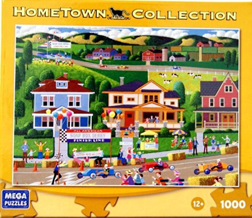HOMETOWN COLLECTION Soap Box Derby Puzzle 1000 Piece Jigsaw Puzzle