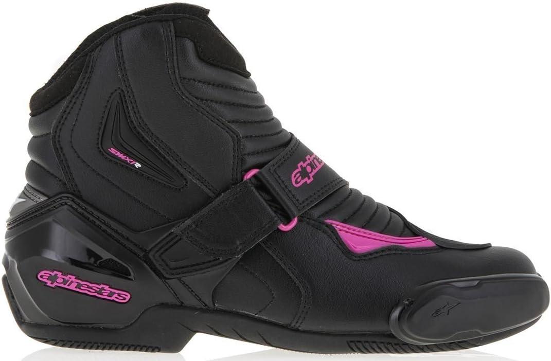 36 Alpinestars Womens Stella SMX-1 R Street Motorcycle Boot Black//Gold