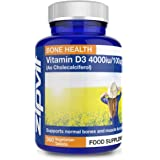 Vitamin D 4000iu 360 Micro Tablets. Vegetarian Society Approved. 12 Months Supply. Vitamin D3 Supports Bone Health and…