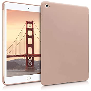 kwmobile Funda Inteligente para Apple iPad Mini 4 - Carcasa Trasera de [Silicona] para Tab - Case [Rosa Palo]