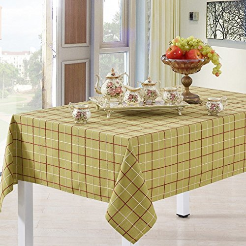 Large Plaid Wallpaper - fwerq Bed linen tablecloths of rectangular shape of cotton bed linen table cloth table cloth table cloth table cloth table linen plaid green ribbon grass cover (Size: XXL)
