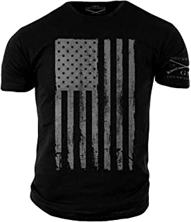 6229cbbe Amazon.com: Grunt Style Freedom Eagle Men's T-Shirt: Clothing