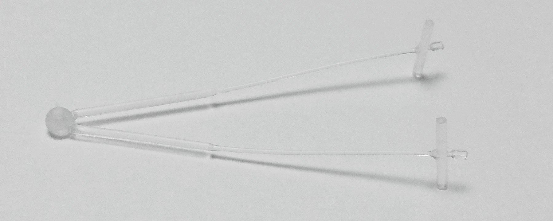 Amram 1 1/2 Inch Standard Loop Tagging Attachments 5000 Pieces 50 Per Clip Natural