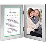 Mommy Gift from Son or Daughter - Sweet Poem in Double Frame - Add Photo
