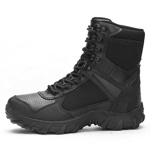 Mens Commando Boots/Desert combat boots/Outdoor boots/Tactical Boots/Single boots