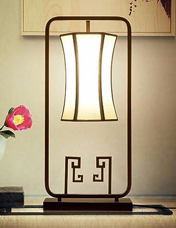 CJSHV-Lámpara de mesa Lampara De Estilo Chino, Dormitorio ...