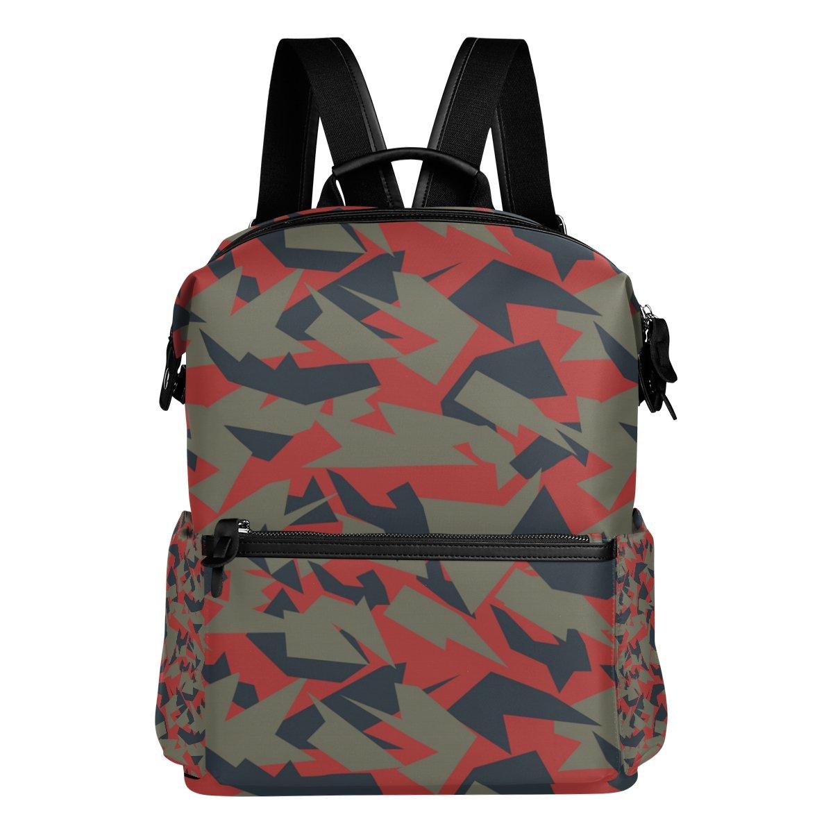 COOSUN Camuflaje Escuela Escuela Escuela Militar Texturas Mochila mochila de viaje Multi 7764c7