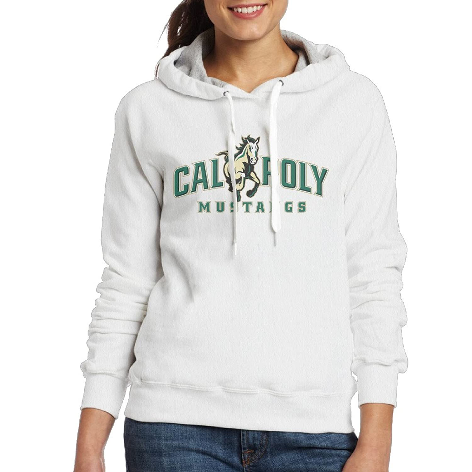 well-wreapped Bro-Custom Cal Poly Sweater For Women