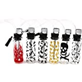 Mini Glass Bottle Hookah Random Color