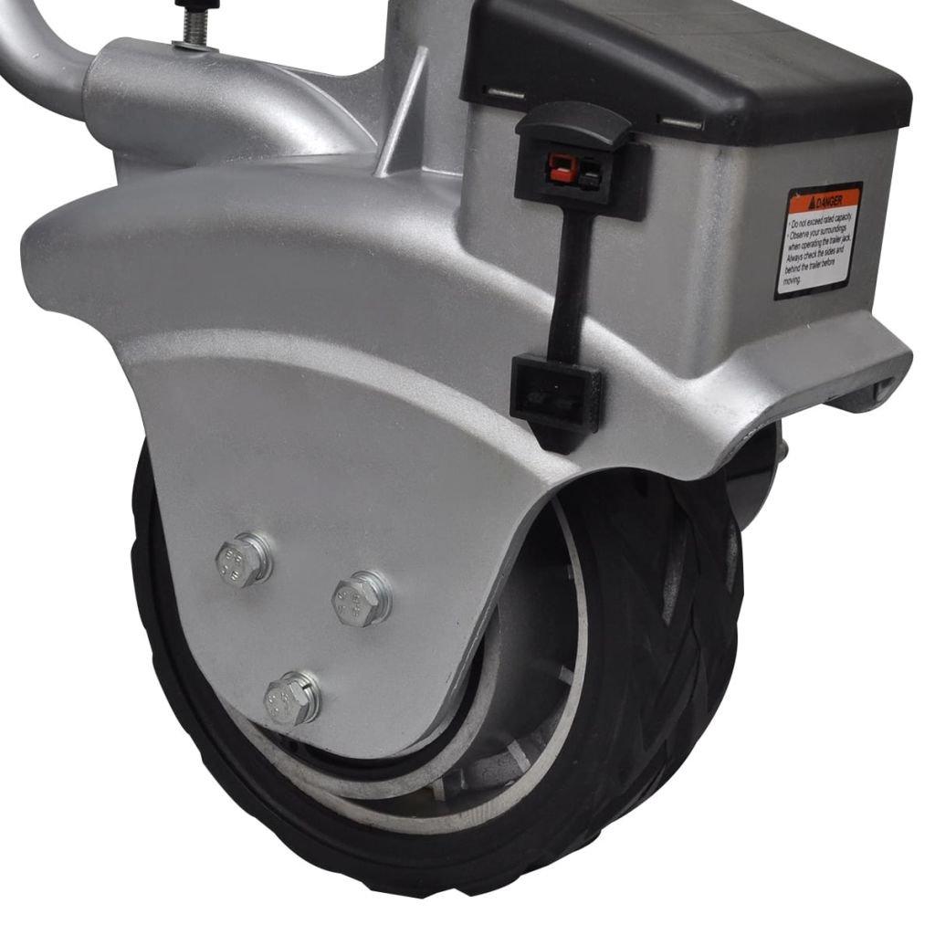 Alu motorizzato Pedana per rimorchio 12/V 350/W dimensioni 83/x 84/x 25/cm L x P x A