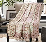 Cozyholy Origenal Design Quilted Blanket Patchwork Bedspreads 100% Cotton Quilts 1-set Queen/Full Bed Cover