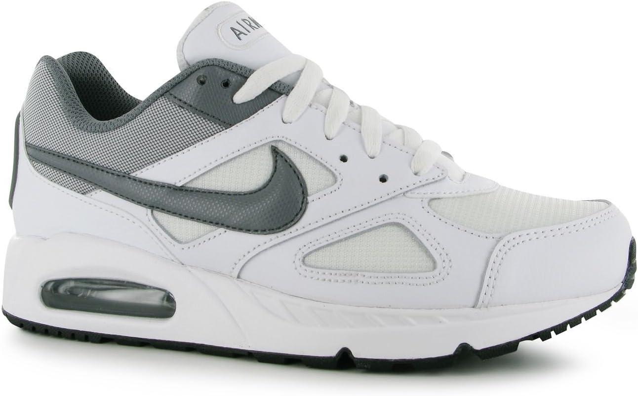 Nike Air MAX Ivo Zapatillas de Entrenamiento para Hombre Blanco/Gris Deportes Fitness Zapatillas Zapatillas, White/Grey: Amazon.es: Deportes y aire libre