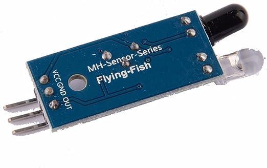 LIUXINDA-MK Muy práctico de infrarrojos IR eludir obstáculos ...