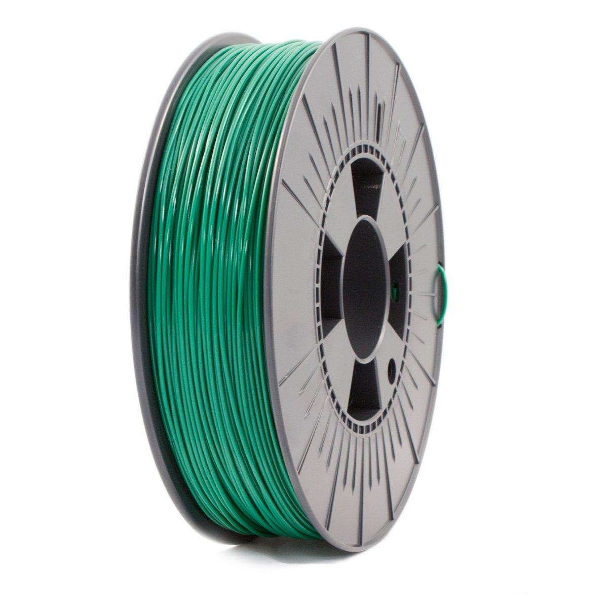 Ice Filaments ICEFIL1PLA108 Filamento PLA, 1,75 mm, 0,75 kg, Verde Oscuro
