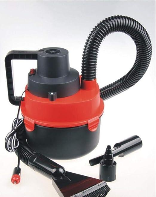 Aspirador de coche,Mojado y seco, batería del tambor, rojo: Amazon.es: Hogar