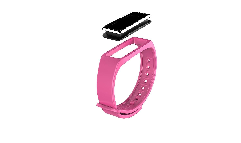 MyKronoz - ZEFIT3 - Bracelet dActivité - Rose: Amazon.fr: Sports et Loisirs