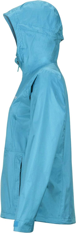 Transpirable a Prueba de Viento Marmot Wms PreCip Eco Plus Jacket Chubasqueros Mujer Chaqueta Impermeable Impermeable