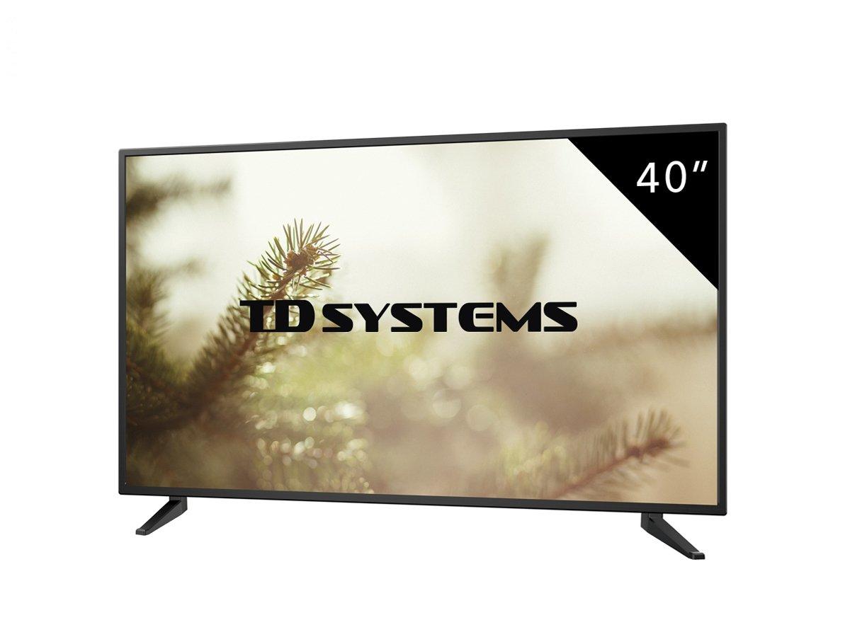 "TV TD Systems K40DLM7F Led Full HD 40"""