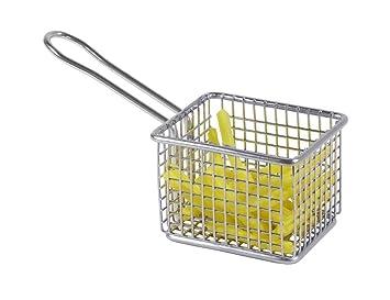 Cesta freidora cesta cesta de freír freidora para papas uso vegetales patatas fritas: Amazon.es: Hogar
