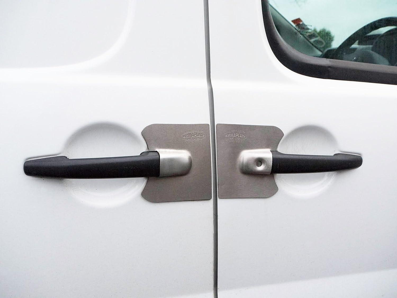 armaplate Tutor 5 placas de puerta Lock protección para Fiat Scudo (07 – 16): Amazon.es: Coche y moto