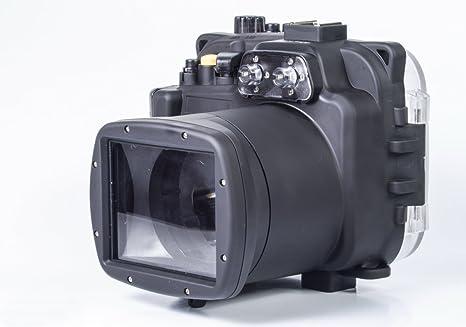 carcasa submarina para cámara Sony NEX6 16-50mm Lente - Carcasa acuática para cámaras