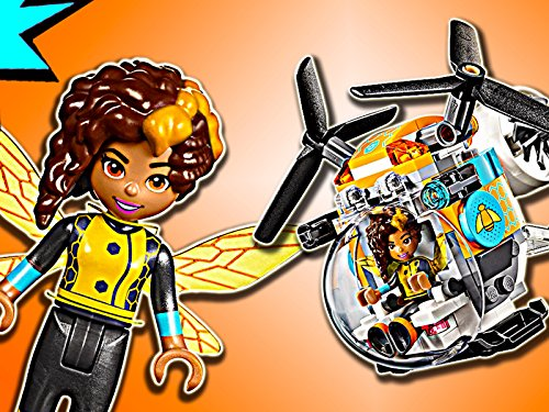 Clip: Super Hero Girls Bumblebee Helicopter - Helicopter Crystal Set