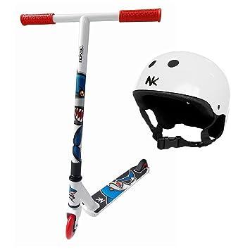 Patinete Scooter Animal Nocaik 2015 de aluminio con casco ...
