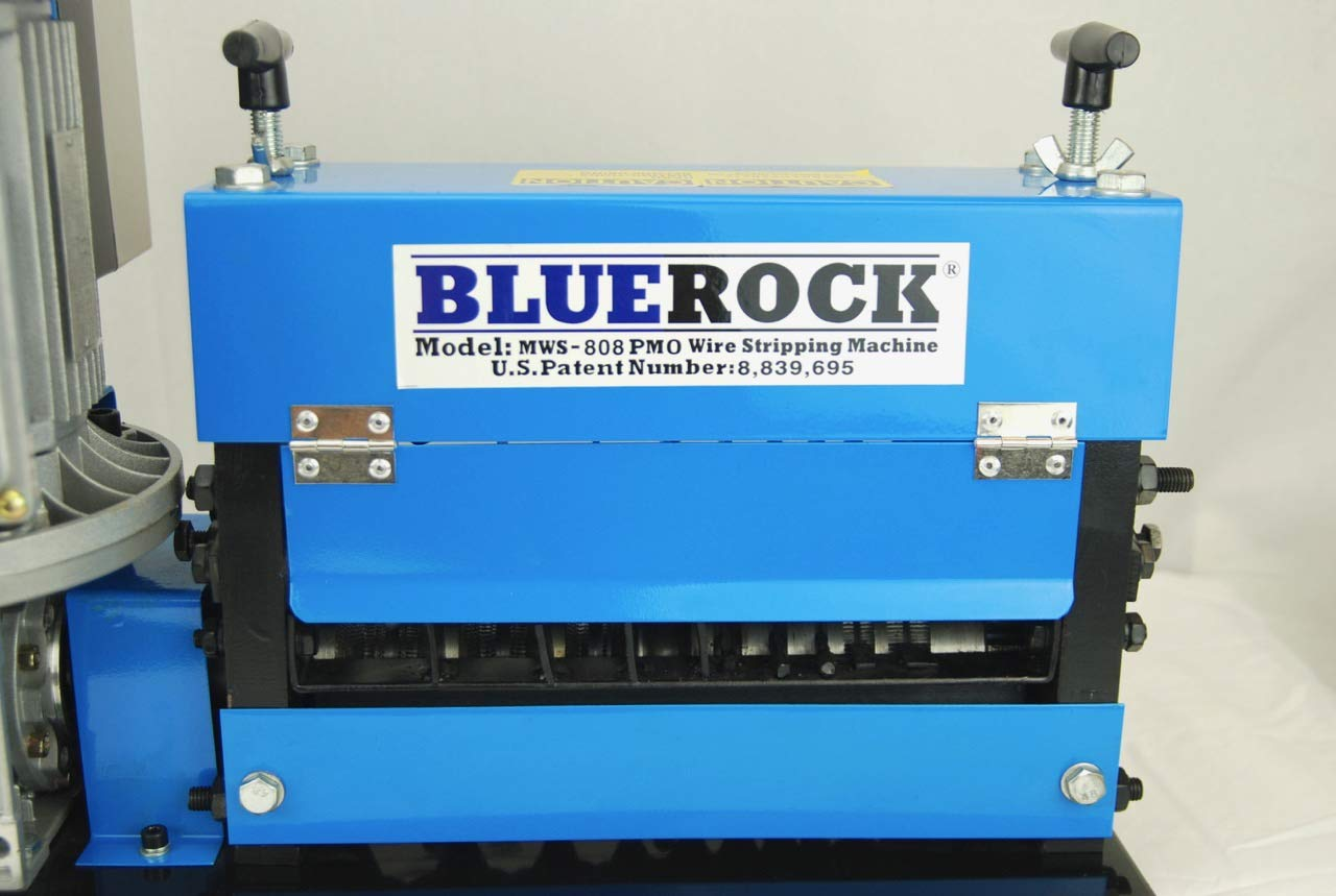 BLUEROCK Tools Model MWS-808PMO Wire Stripping Machine Copper Cable Stripper by BLUEROCK (Image #3)