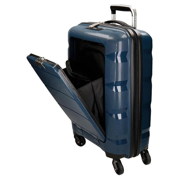 Movom Geometric Equipaje de Mano, 55 cm, 38 litros, Azul: Amazon.es: Equipaje