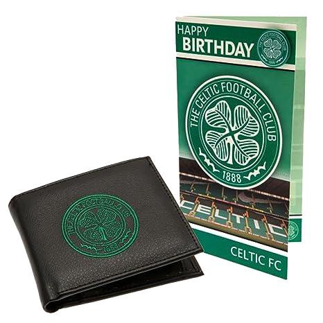 Bordado cartera (equipo de celta y combinación de tarjeta de cumpleaños