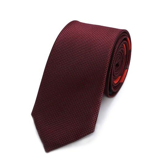 Neckchiefs Vino Rojo Poliéster Textil Hombres Corbatas Flores ...