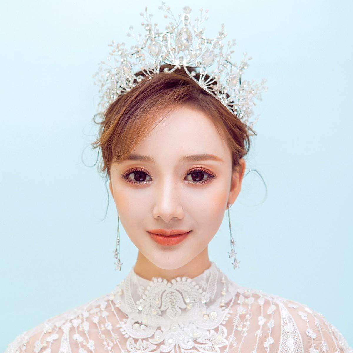 Girls Crown, Beautiful headdress/Bridal Crown Accessories Crown 2 Wedding Accessories by Zehaer (Image #2)