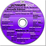 Ultimate Boot CD-DVD (NEU)/Notfall-CD-DVD für Windows 10® Windows 7, Windows 8, Vista, XP Betriebssysteme System-Diagnose Tools
