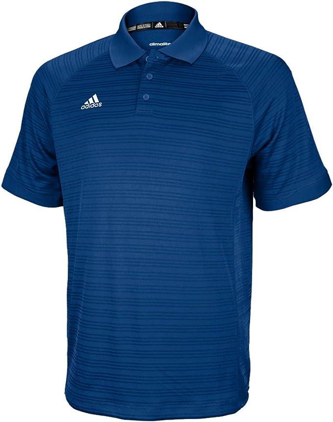 Short Sleeve Shirts | Core 18 Climalite Polo Shirt Power RedWhite Adidas Mens ⋆ The UoB Linguist