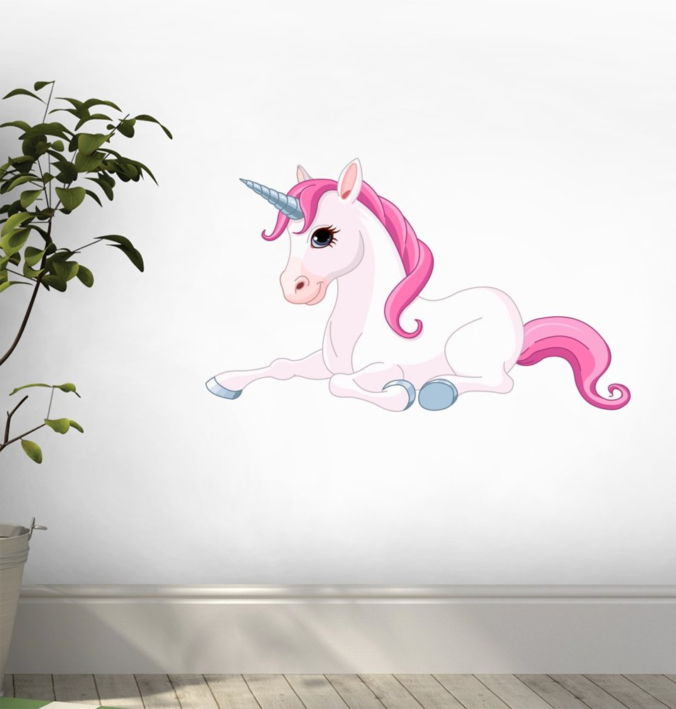 Amazon.com: Adorable Unicorn Wall Decal By Wallmonkeys Peel And Stick  Graphic (18 In W X 11 In H) WM51349: Home U0026 Kitchen Part 88