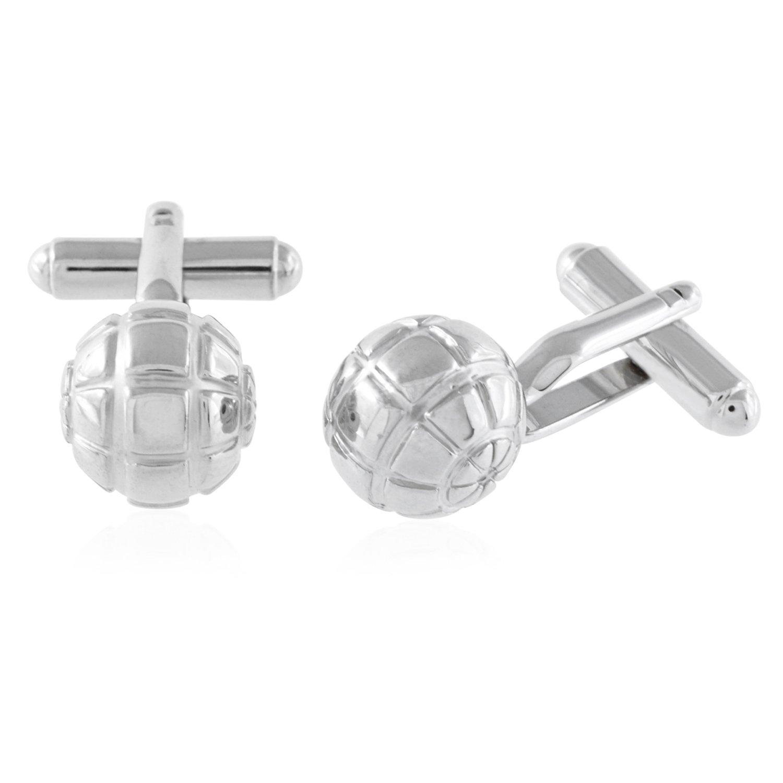 Segmented Sphere Cufflinks