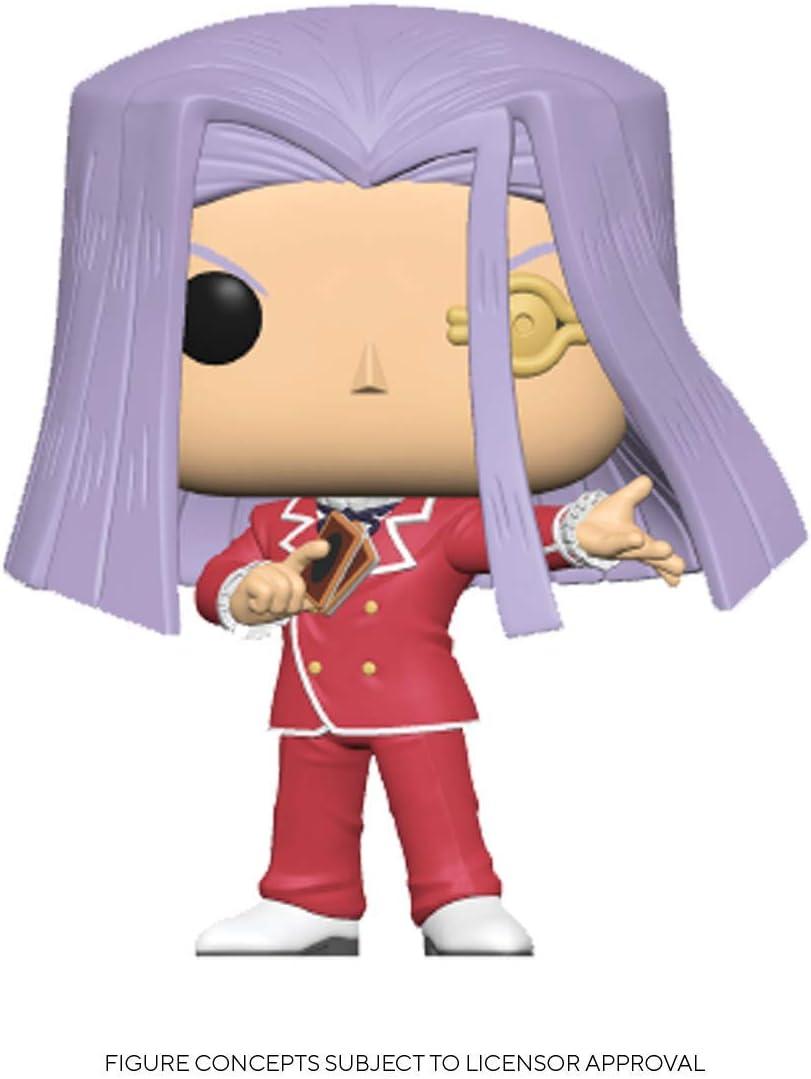 Mehrfarben Funko 46924 POP Animation Yu-Gi-Oh-Maximillion Pegasus Sammelbares Spielzeug