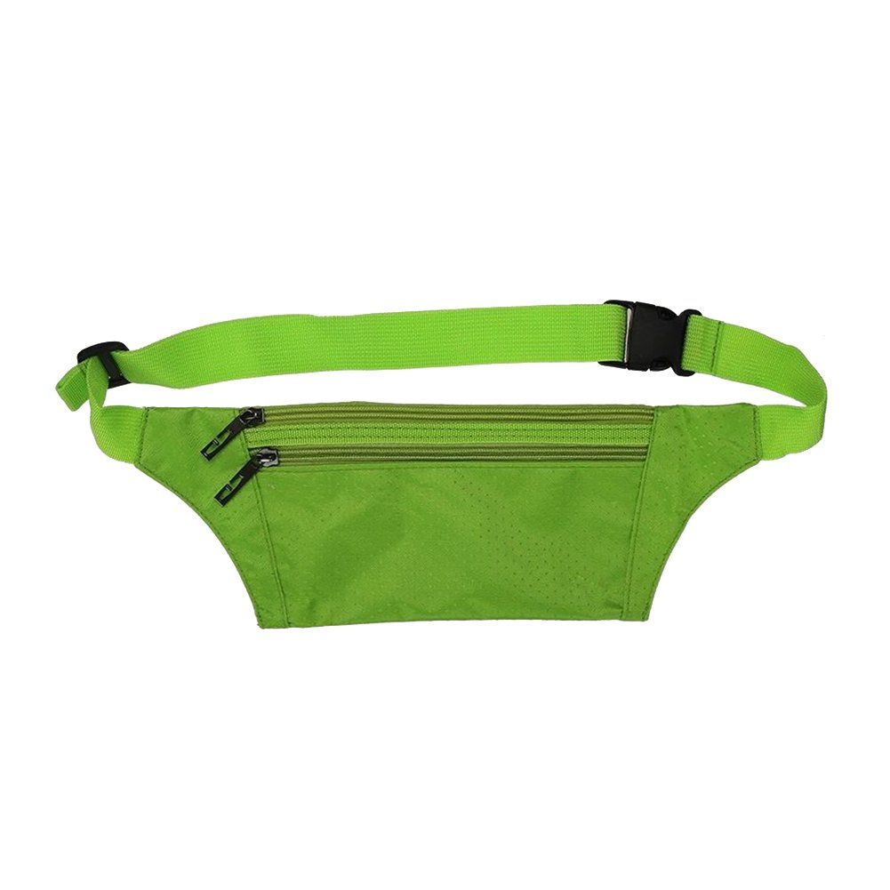 Foremost Unisex Handy Best Sports Belt for Runners,waist Pack/pouch, Fanny Pack, Travel Money Belt. (Green) by Unknown (Image #1)