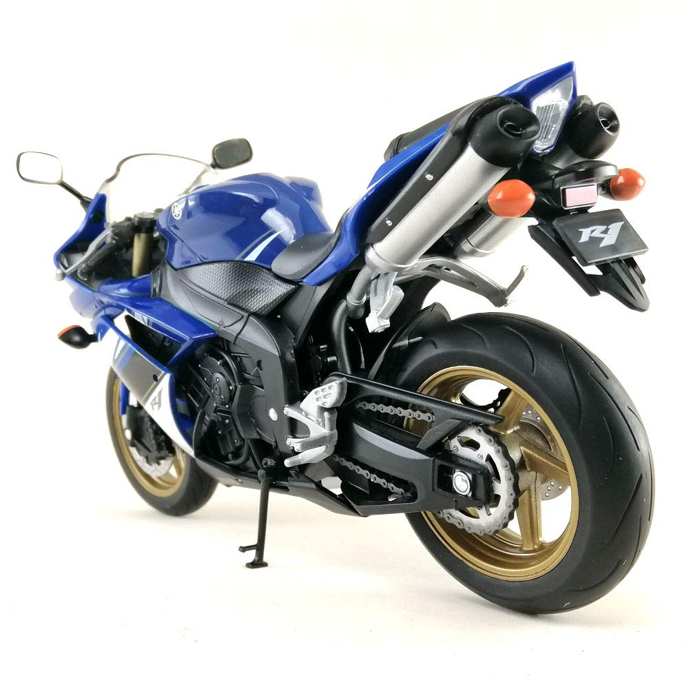 Amazon.com: Welly Motocicleta Moto Die-cast Modelo Yamaha ...