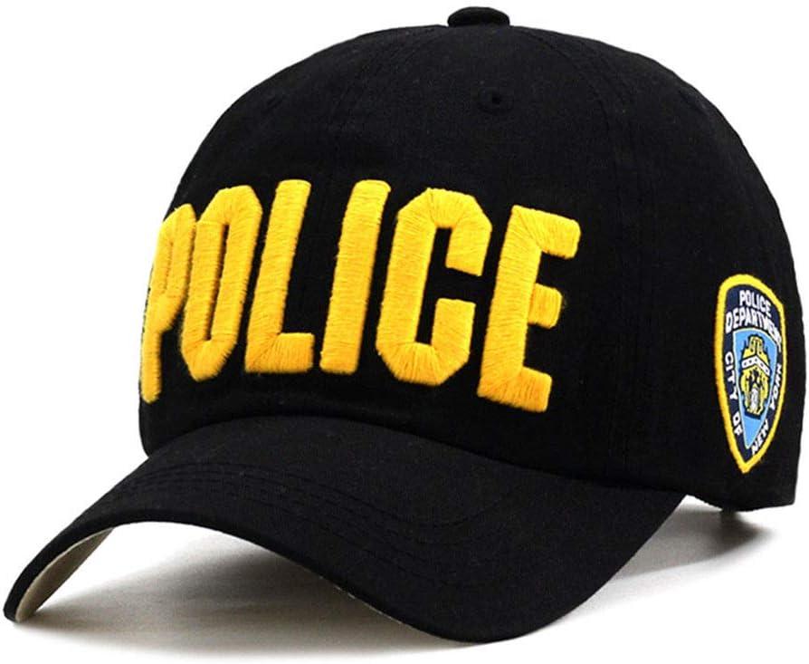 ing.com Policía Mayor Abrazo Sombrero Sombrero Unisex Gorra de ...