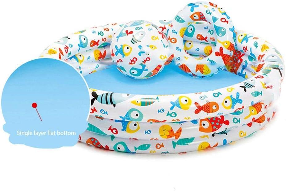 Bebé Infantil Infantil Bola Marina Cerca de la Piscina Bola de Color Interior Ola Bola de la Bola Juguete del bebé 1-2 años de Edad (Color : 132 * 28CM)