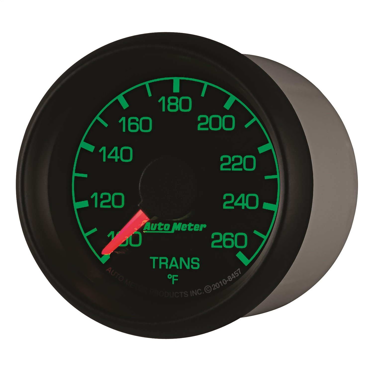 Auto Meter 8457 Factory Match Transmission Temperature Gauge by Auto Meter
