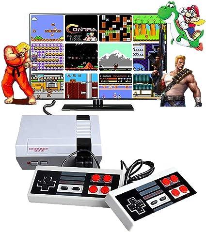 Mini Retro 8-Bit Game Console Like the NES Mini W 620 Games Built-In