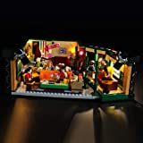 BRIKSMAX Led Lighting Kit for Friends Central Perk - Compatible with Lego 21319 Building Blocks Model- Not Include The Lego S