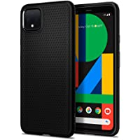 Spigen Liquid Air Armor Designed for Google Pixel 4 Case (2019) - Matte Black