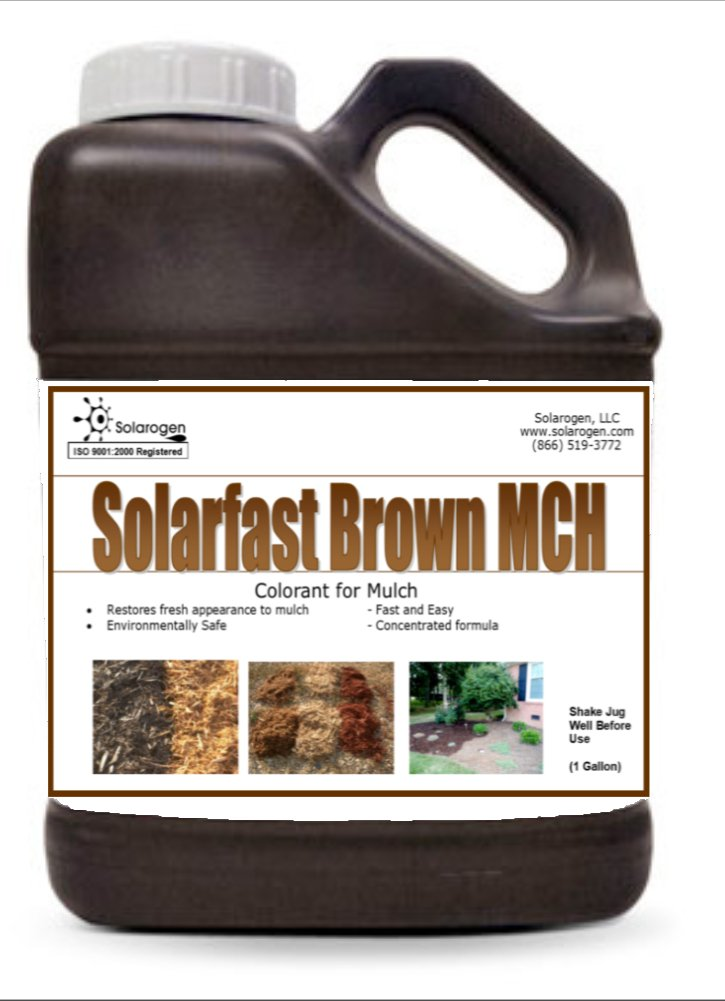 Solarfast Brown Mulch Paint- 10,000 Sq.ft