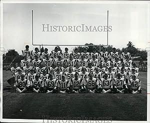 Historic Images - 1976 Press Photo North Canton Hoover Vikings, Football - cvb44407