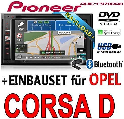 Opel Corsa D Negro – Pioneer avic-f970dab – 2DIN Multimedia ...